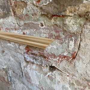 Bead Moulding against Wall