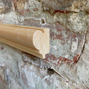 Rebated Wood Picture Rail